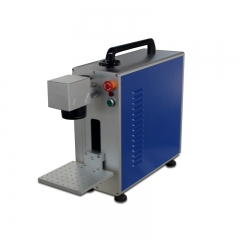 Portable Metal and Non-metal 20W Fiber Laser Marking Marker